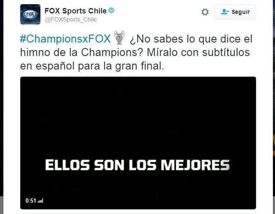 Hashflag #ChampionsxFOX
