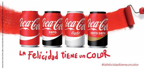 #LaFelicidadTieneUnColor de Coca Cola Valla