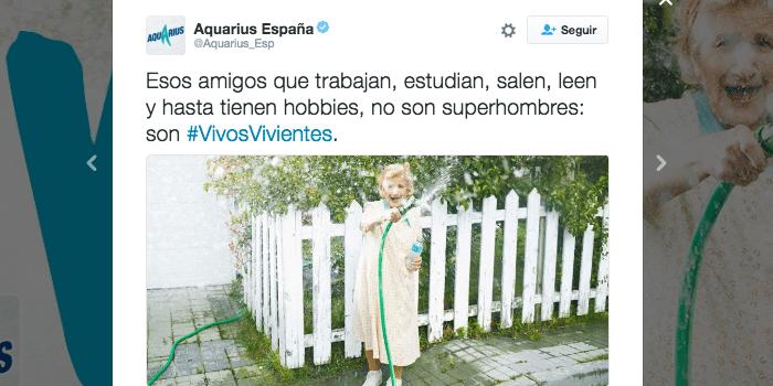 Campaña verano Aquarius