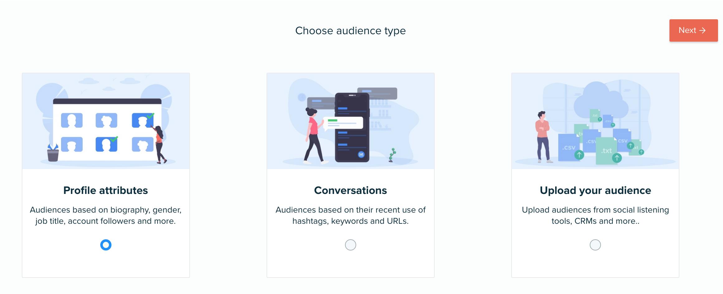 Audiense blog - DEFINE YOUR AUDIENCE STEP