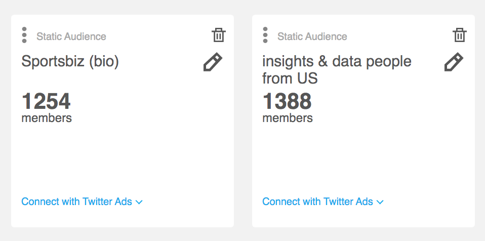 Audiense blog - CONNECT WITH TWITTER ADS