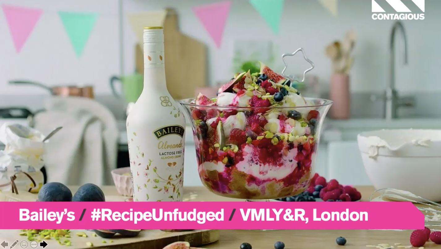 Audiense blog - Bailey's   #RecipeUnfudged   VMLY&R