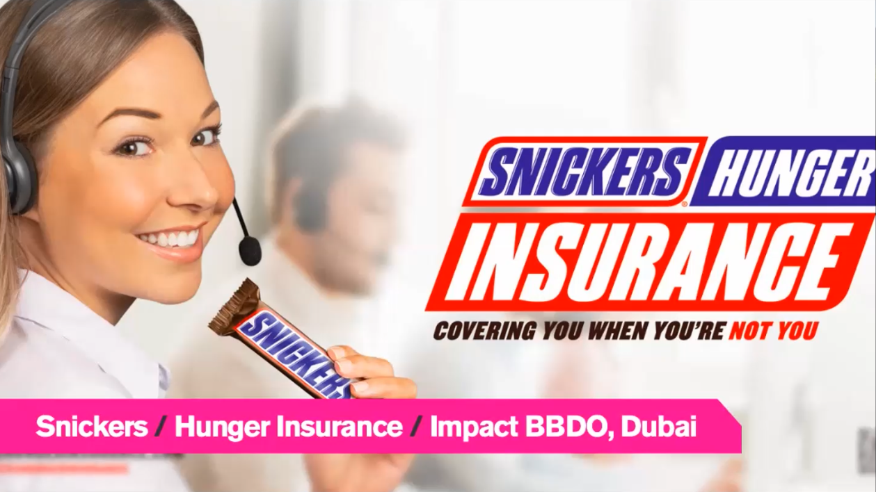 Audiense blog - Snickers   Hunger Insurance