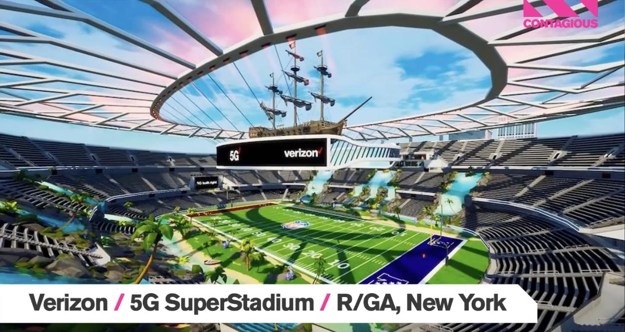 Audiense blog - SuperStadium 5G de Verizon