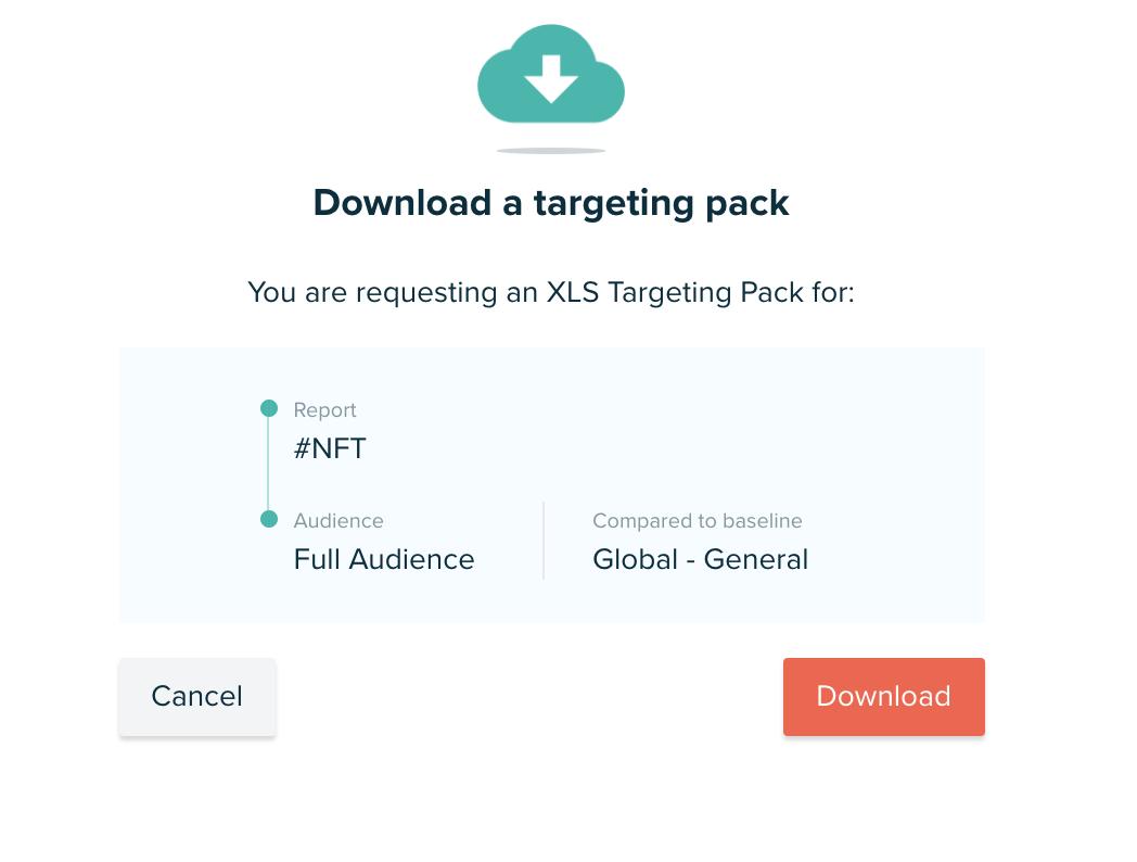 Audiense blog - Targeting Pack