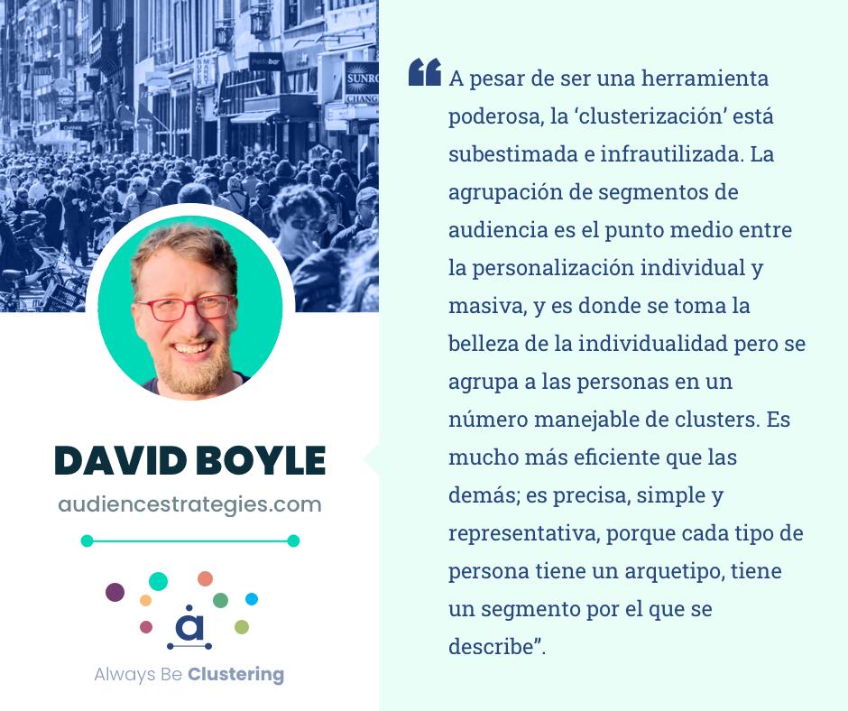 Audience intelligence - David Boyle