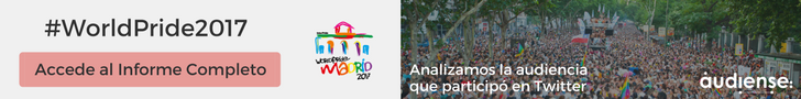 Consigue el informe completo sobre la audiencia del World Pride 2017 - Audiense Insights